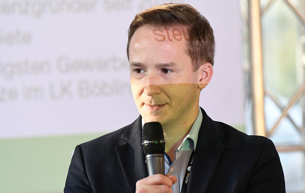 Bürgermeister von Magstadt, Florian Glock