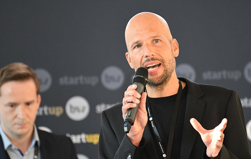 Bürgermeister Florian Glock, Andreas Pichler vom CREATEAM